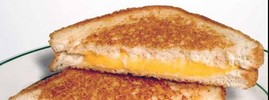 Toasted Cheese and Onion Sandwich