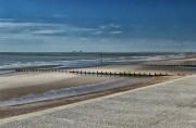 Beach between Hythe and Dymchurch