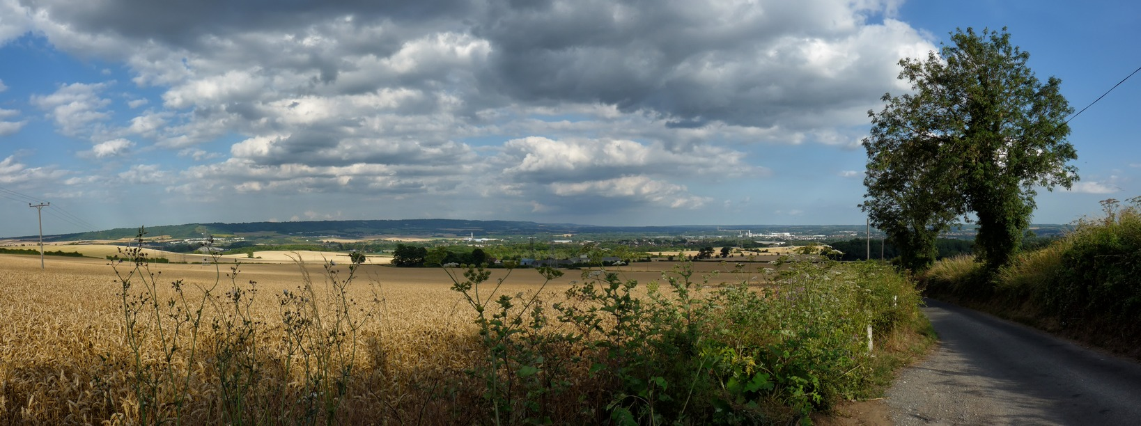 View From Birling Hill-r