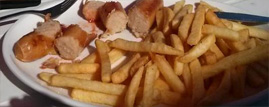 Sausage and Chips