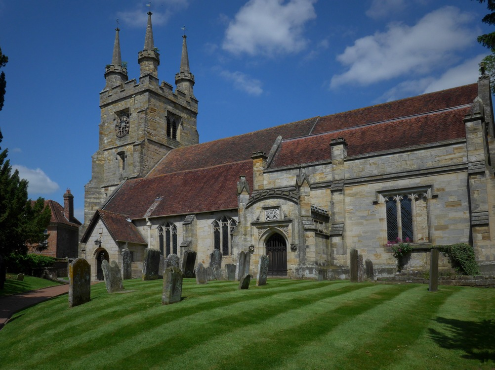 The Church of St. John the Baptist, Penshurst