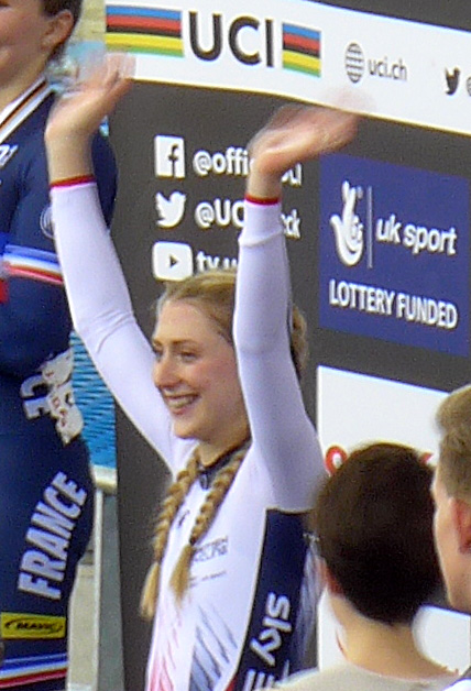 Laura Trott, London Velodrome, 2016