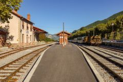 Entrevaux station