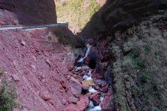 Red rocks of Gorges du Cians