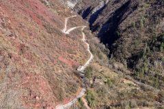 Road to Pierlas