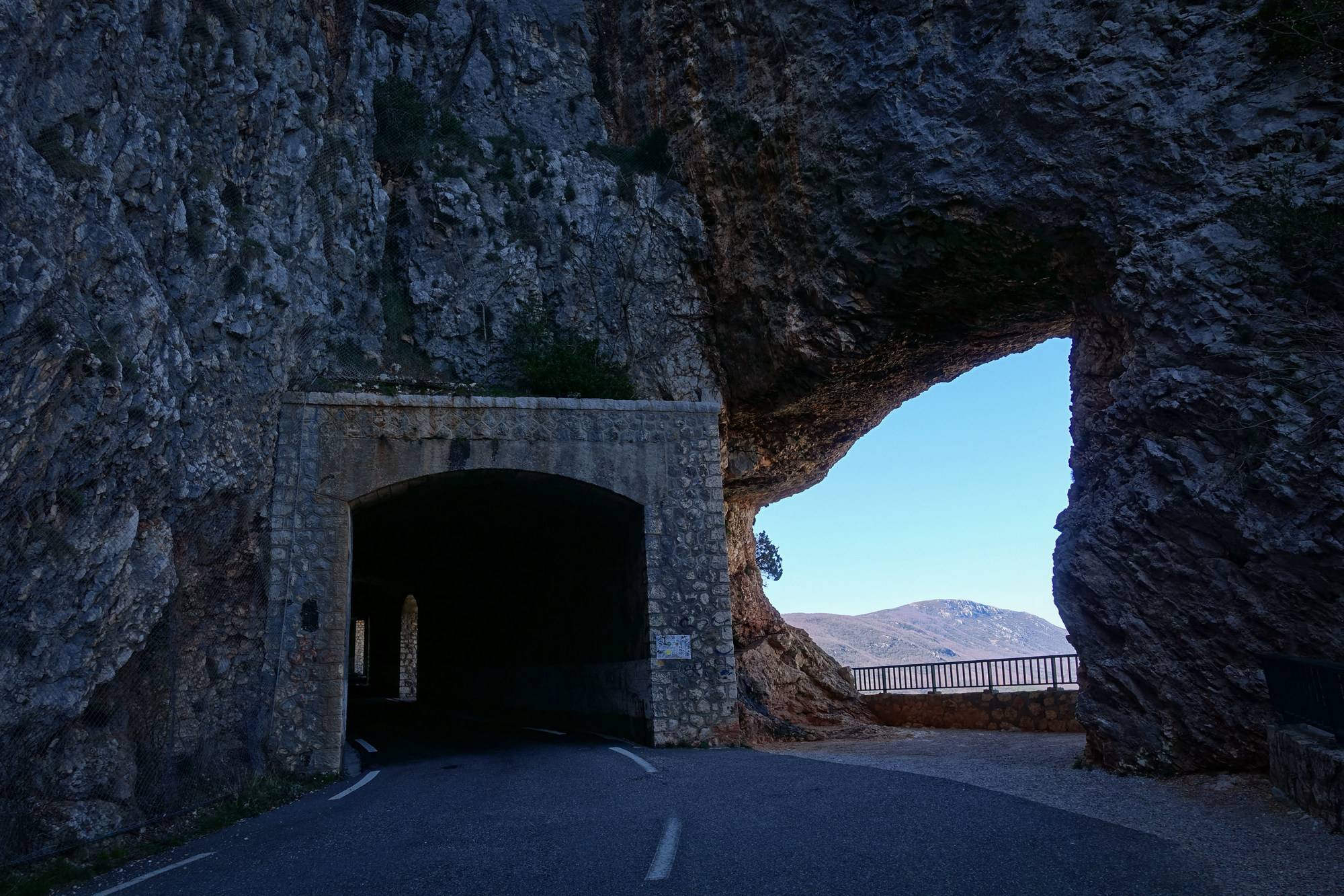 Tunnel du Fayet
