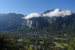 Bourg d'Oisans from turn 18
