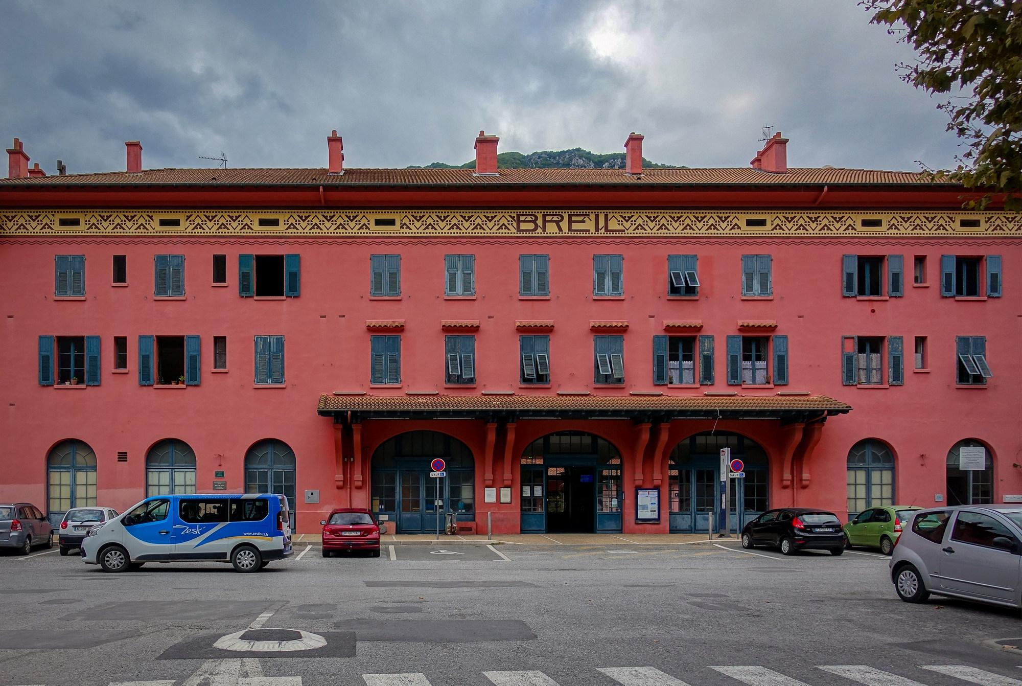 Breil-sur-Roya station